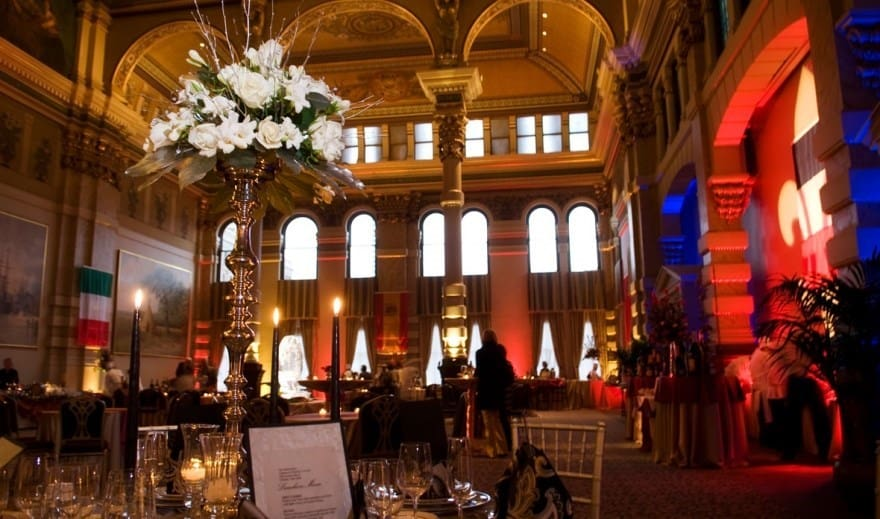 Bartolotta Catering's Grain Exchange interior